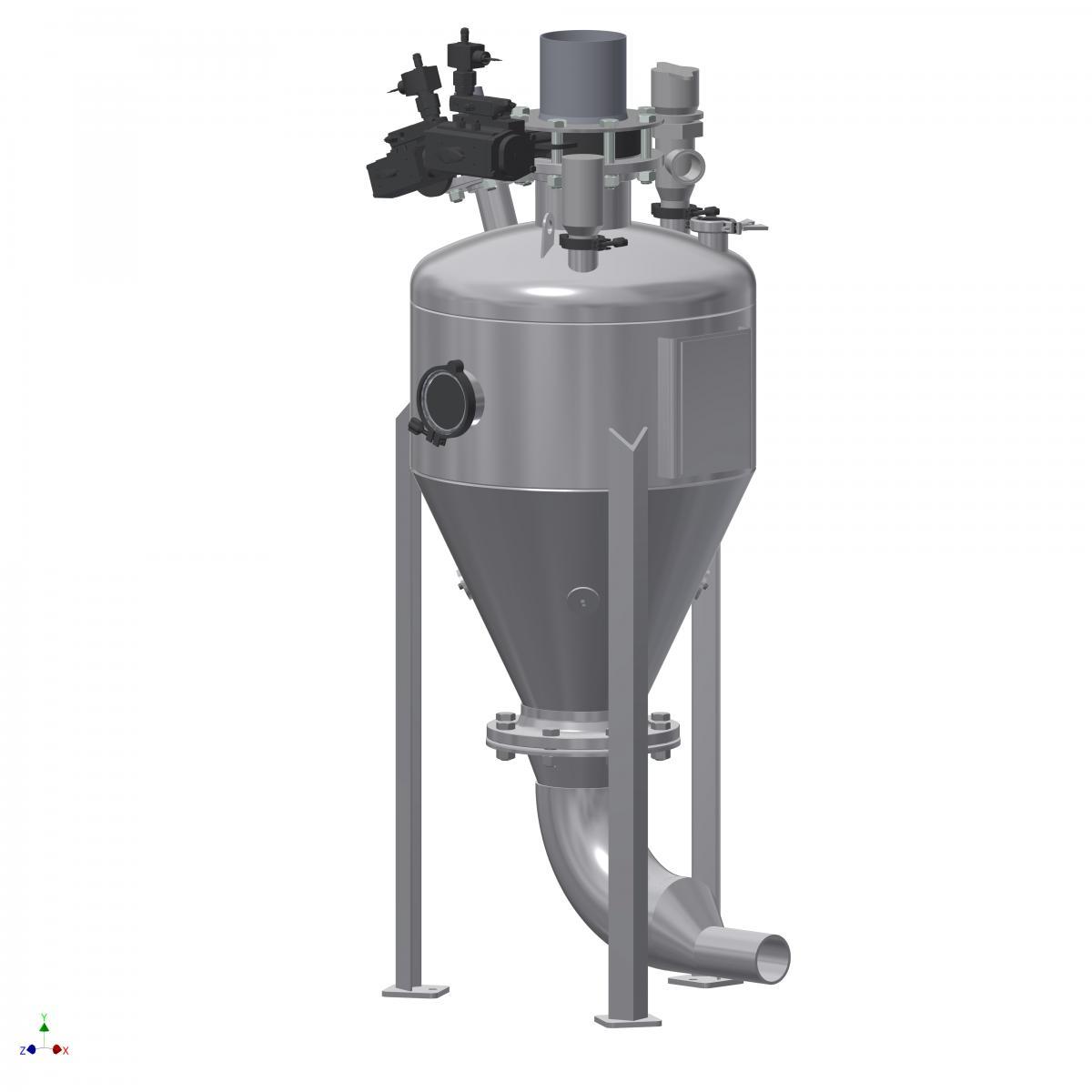 K Tron - Dense phase pressure vesse