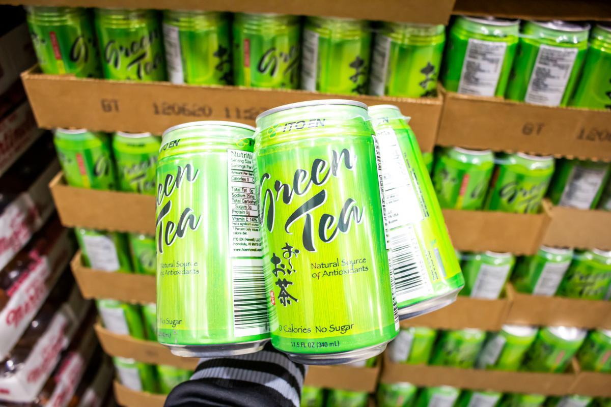 ITO EN canned green tea