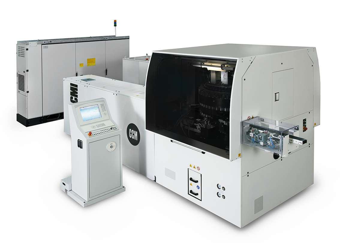 Sacmi's compression moulding machinery