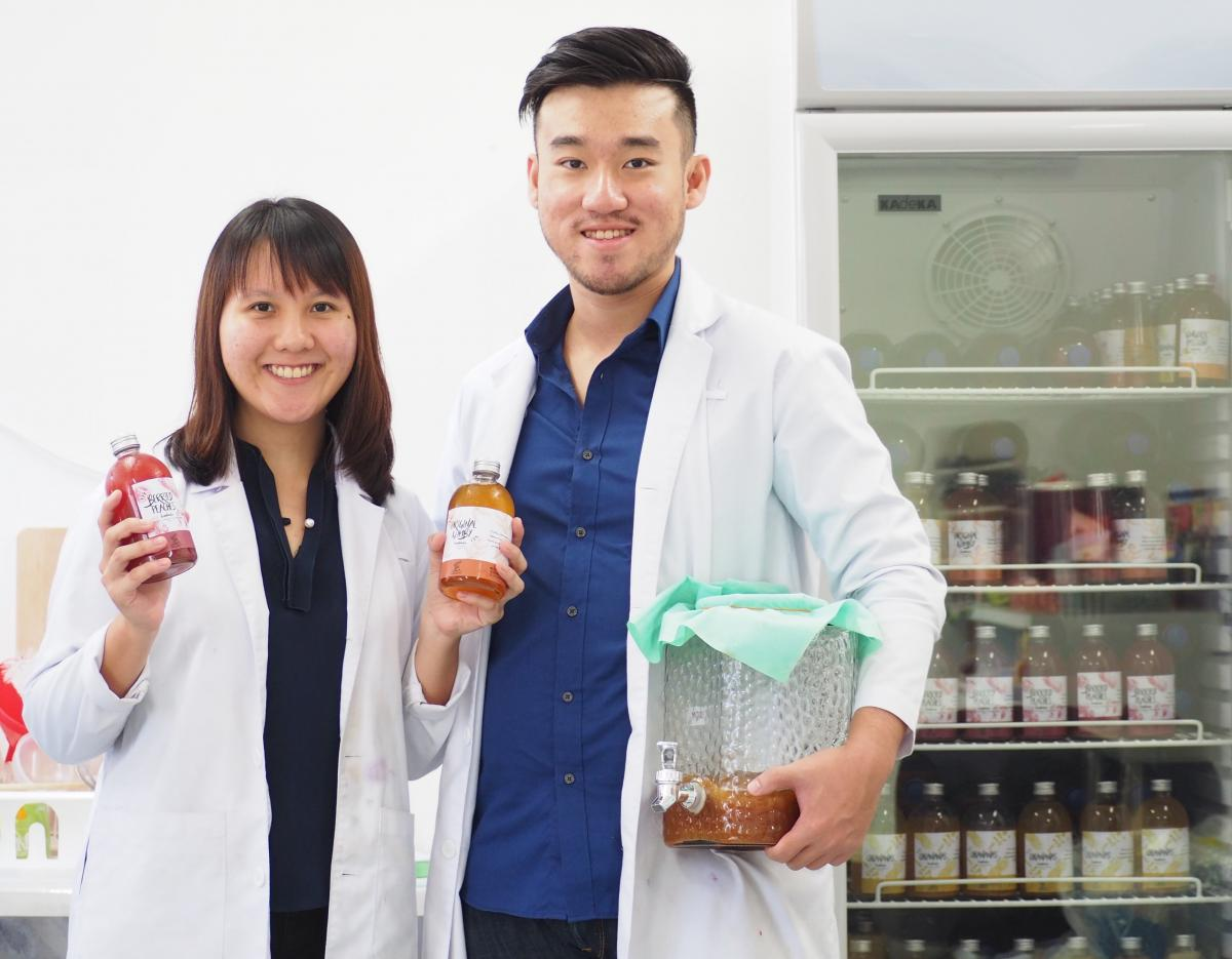 Kombynation founders Mareen Liang and Ethan Eng