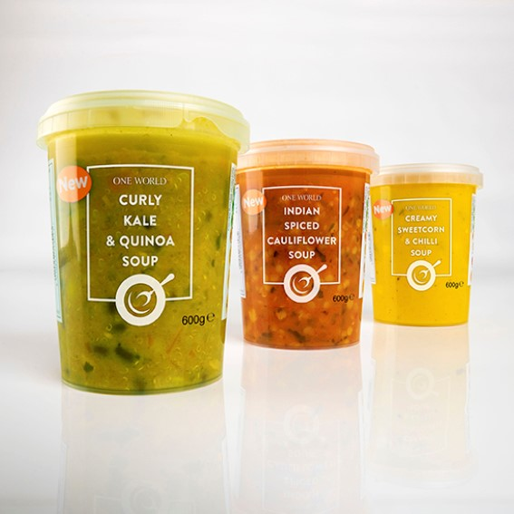 Clear packaging showcases Innovia's RayoForm™ ICU in-mould label film