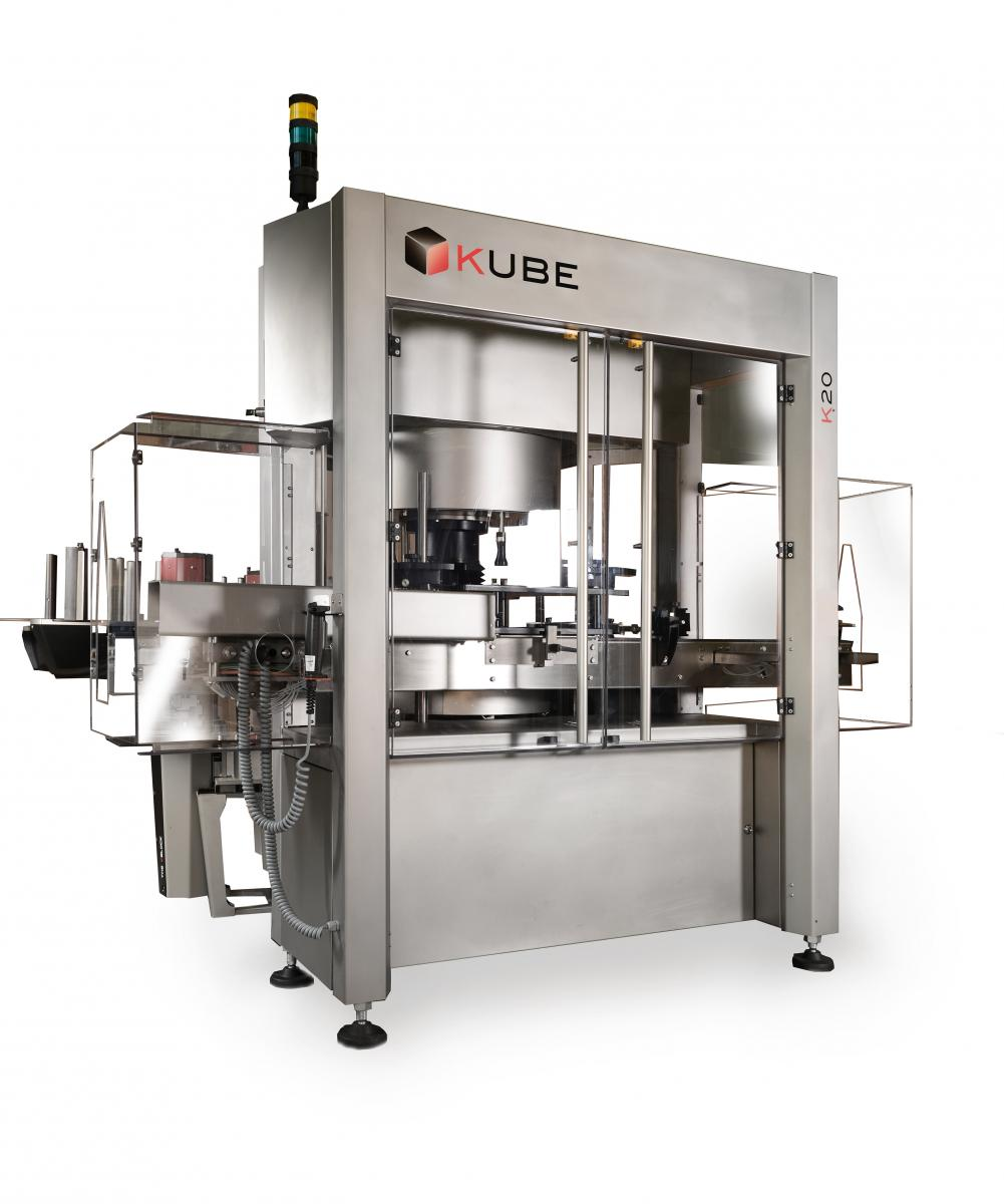 Sacmi's Kube labelling machine